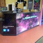 Full colour digital counter vinyl wrap