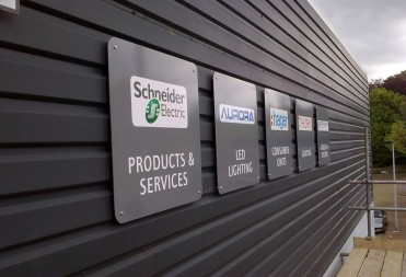 Aluminium Panel Signs
